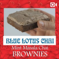 Check out our how-to video for making Mint Masala Chai Brownies